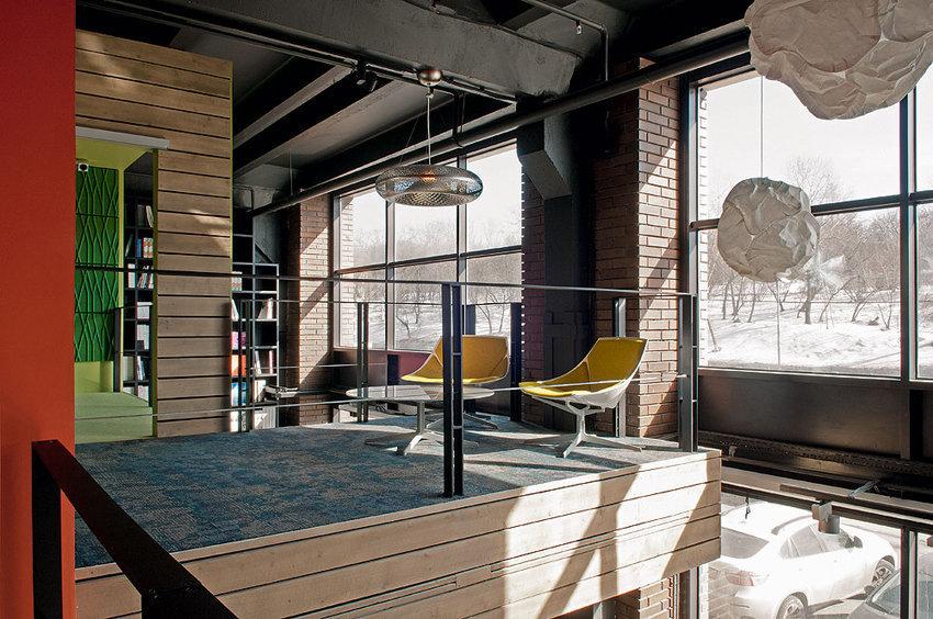 Фотография: Мебель и свет в стиле Лофт, Офисное пространство, Офис, Дома и квартиры, Проект недели, Artplay – фото на InMyRoom.ru