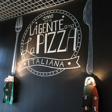 Фото из портфолио Дизайн штор в итальянском ресторане – фотографии дизайна интерьеров на INMYROOM