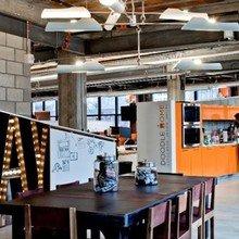 Фотография: Офис в стиле Лофт, Современный, Хай-тек – фото на InMyRoom.ru