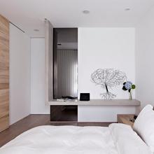 Фотография: Спальня в стиле Современный, Малогабаритная квартира, Квартира, Дома и квартиры, Квартиры – фото на InMyRoom.ru