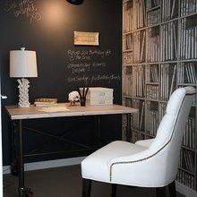 Фотография: Кабинет в стиле Кантри, Декор интерьера, Интерьер комнат, Стулья, Лампы, DG Home – фото на InMyRoom.ru