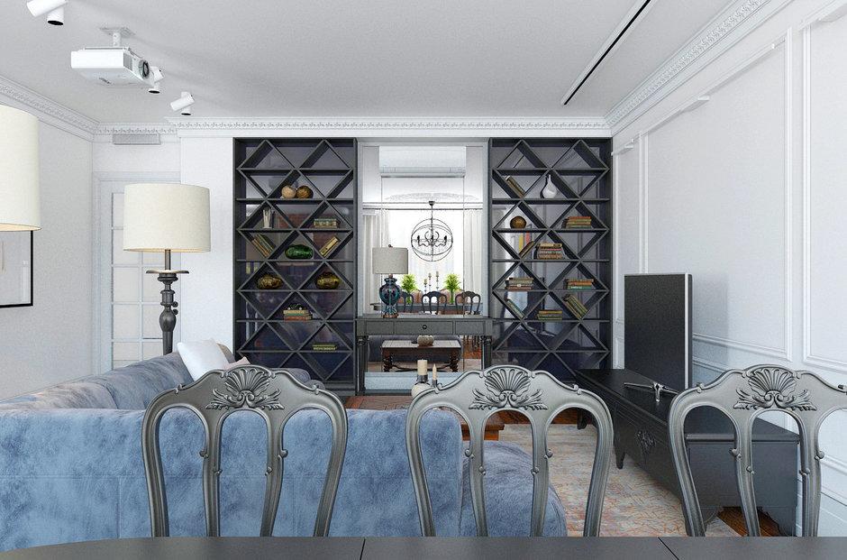 Фотография: Гостиная в стиле Восточный, Лофт, Квартира, Дома и квартиры – фото на InMyRoom.ru