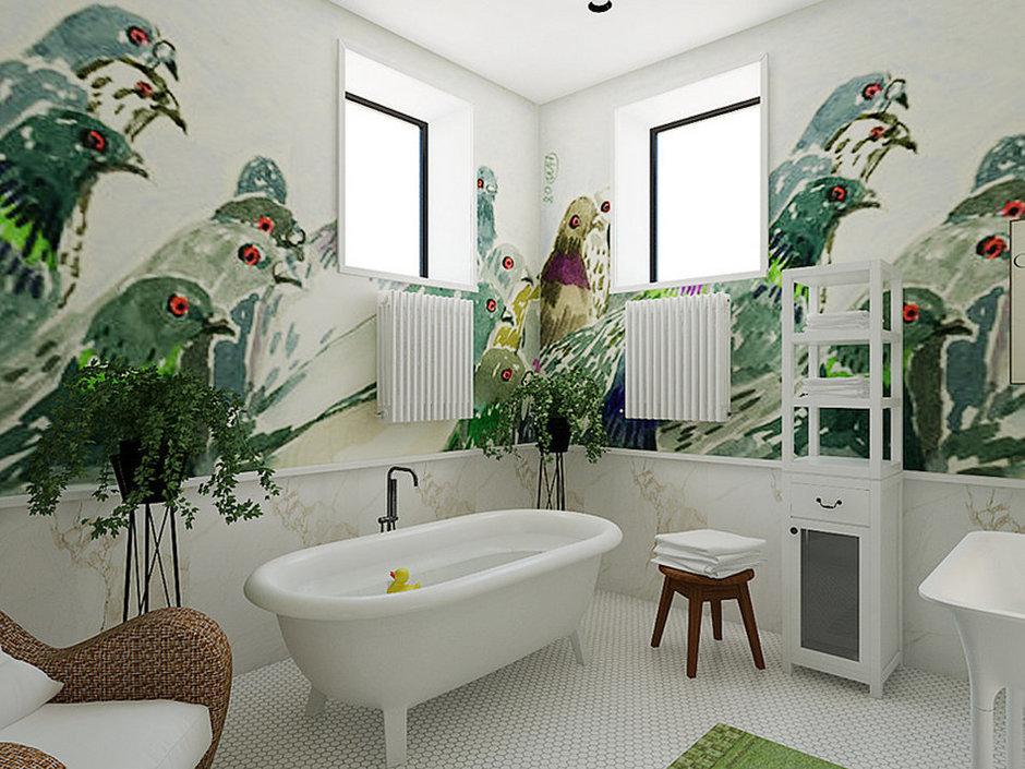 Фотография: Ванная в стиле Современный, Декор интерьера, Дом, Дома и квартиры, Проект недели – фото на InMyRoom.ru