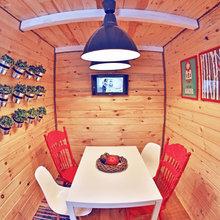 """Фото из портфолио Постройка гостевого домика для тв-шоу """"Дача"""" – фотографии дизайна интерьеров на InMyRoom.ru"""