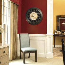 Фотография:  в стиле Современный, Декор интерьера, Часы, Декор дома – фото на InMyRoom.ru