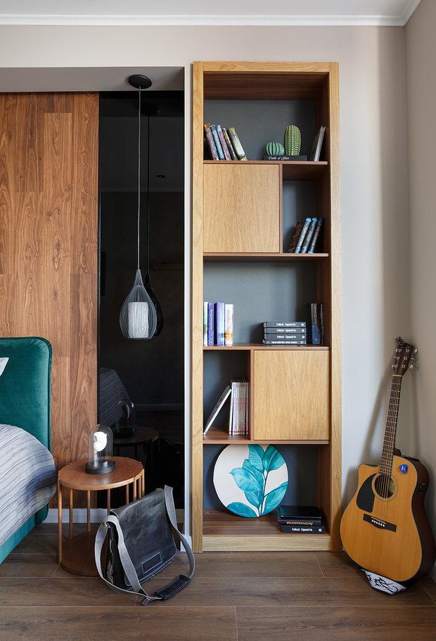 Фото из портфолио Однушка для студента – фотографии дизайна интерьеров на INMYROOM