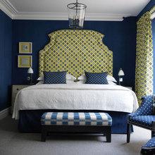 Фотография: Спальня в стиле Кантри, Советы, Желтый, Виктория Тарасова – фото на InMyRoom.ru