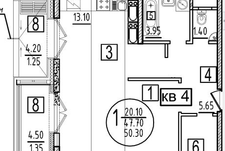 планировка пространства в новостройке