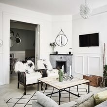 Фото из портфолио Яркая скандинавская квартира со стеклянными перегородками – фотографии дизайна интерьеров на INMYROOM