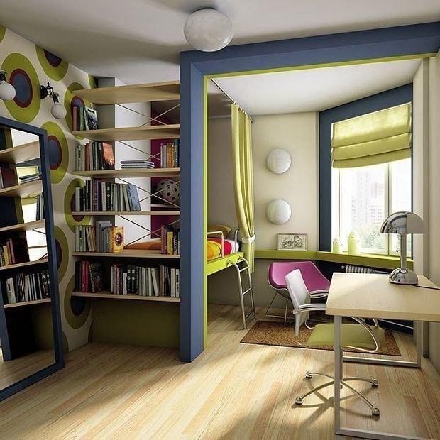 Фотография: Детская в стиле Современный, Декор интерьера, Малогабаритная квартира, Квартира, Дом, Планировки – фото на InMyRoom.ru