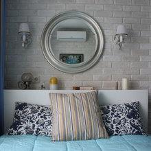 Фотография: Спальня в стиле Современный, Малогабаритная квартира, Квартира, Дома и квартиры, Ремонт – фото на InMyRoom.ru