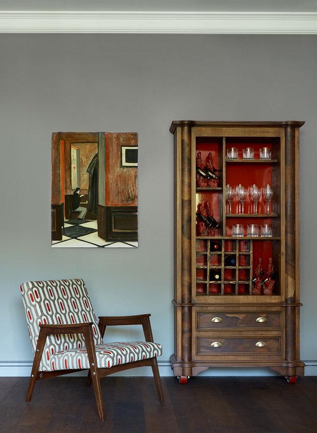 Фотография: Мебель и свет в стиле Эклектика, Дом, Проект недели, Женя Жданова, Подмосковье – фото на INMYROOM