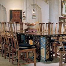 Фотография: Кухня и столовая в стиле Восточный, Дома и квартиры, Интерьеры звезд – фото на InMyRoom.ru