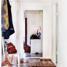 Фотография: Прихожая в стиле Скандинавский, Декор интерьера, Текстиль, Декор, Декор дома, Пэчворк – фото на InMyRoom.ru