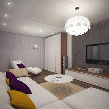 Фото из портфолио Проект квартиры для семьи из 4-х человек – фотографии дизайна интерьеров на InMyRoom.ru