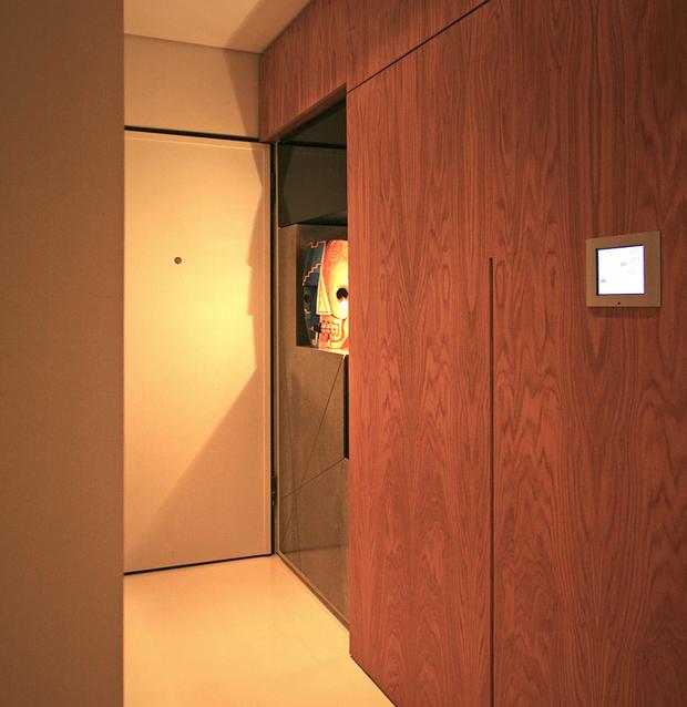 Фотография:  в стиле Современный, Малогабаритная квартира, Квартира, Дома и квартиры – фото на InMyRoom.ru