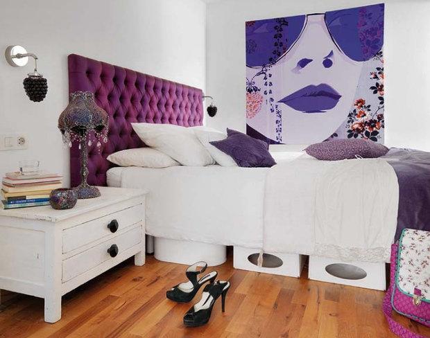 Фотография: Ванная в стиле Современный, Спальня, Интерьер комнат – фото на InMyRoom.ru