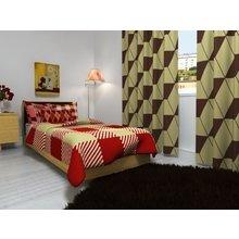 Комплект для спальной комнаты: Квадратный узор