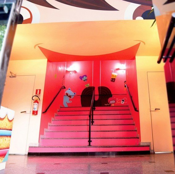 Фотография: Прочее в стиле Лофт, Офисное пространство, Офис, Дома и квартиры, Сад, Сан-Паулу, Графика, Граффити – фото на INMYROOM