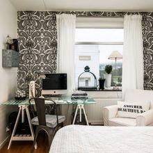 Фотография: Спальня в стиле Скандинавский, Декор интерьера, Квартира, Дом, Декор, Белый, Черный – фото на InMyRoom.ru