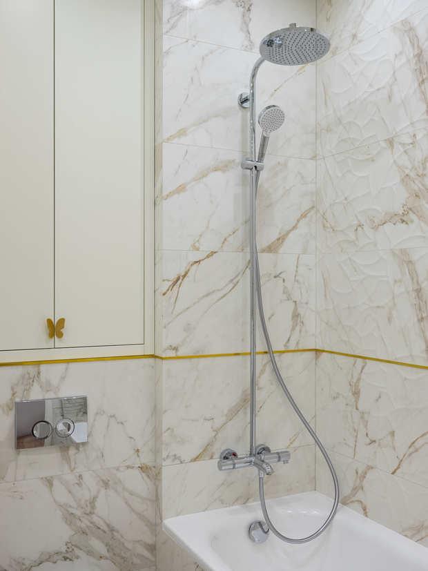 Фотография: Ванная в стиле Классический, Современный, Квартира, Проект недели, Москва, 4 и больше, Более 90 метров, Алена Чмелева – фото на INMYROOM