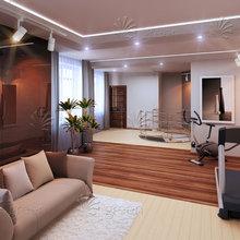 Фото из портфолио Двухуровневая квартира – фотографии дизайна интерьеров на InMyRoom.ru
