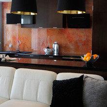 Фотография: Кухня и столовая в стиле Минимализм, Малогабаритная квартира, Квартира, Дома и квартиры – фото на InMyRoom.ru