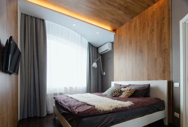 Фото из портфолио 42м2 Oasis for men реализация – фотографии дизайна интерьеров на INMYROOM