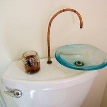 Фотография: Ванная в стиле Современный, Дом, Дома и квартиры, Городские места, Дача – фото на InMyRoom.ru