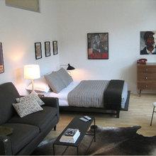 Фотография: Спальня в стиле Современный, Гостиная, Классический, Эклектика, Декор интерьера, Малогабаритная квартира, Квартира, Декор, Мебель и свет, Советы, HOFF – фото на InMyRoom.ru