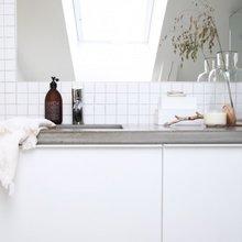 Фотография: Ванная в стиле Скандинавский, Современный, Кухня и столовая, Интерьер комнат, Тема месяца – фото на InMyRoom.ru