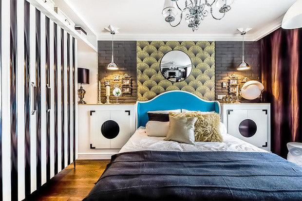 Фотография: Спальня в стиле , Декор интерьера, Интерьер комнат, Ар-деко – фото на InMyRoom.ru