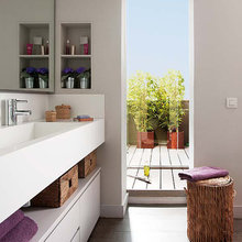Фотография: Ванная в стиле Скандинавский, Дом, Испания, Дома и квартиры – фото на InMyRoom.ru