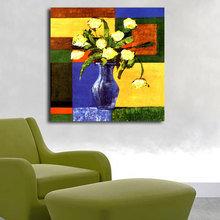 Декоративная картина на холсте: Желтый букет