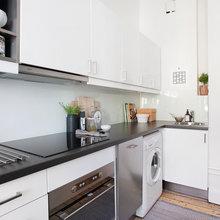 Фото из портфолио Однокомнатная квартира-студия в Стокгольме – фотографии дизайна интерьеров на INMYROOM