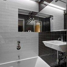 Фотография: Ванная в стиле Современный, Дом, Дома и квартиры, Минимализм, Большие окна – фото на InMyRoom.ru
