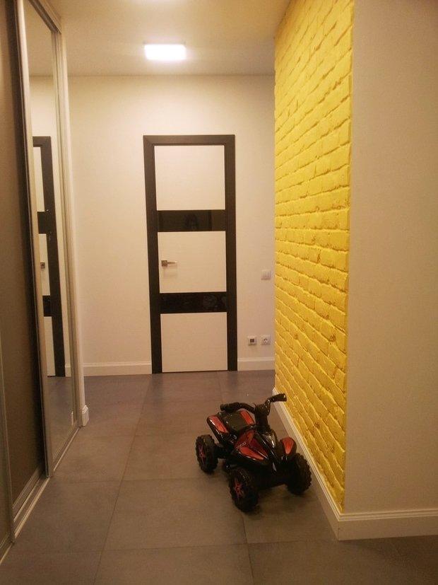 Фото из портфолио Первая квартира молодой семьи – фотографии дизайна интерьеров на INMYROOM