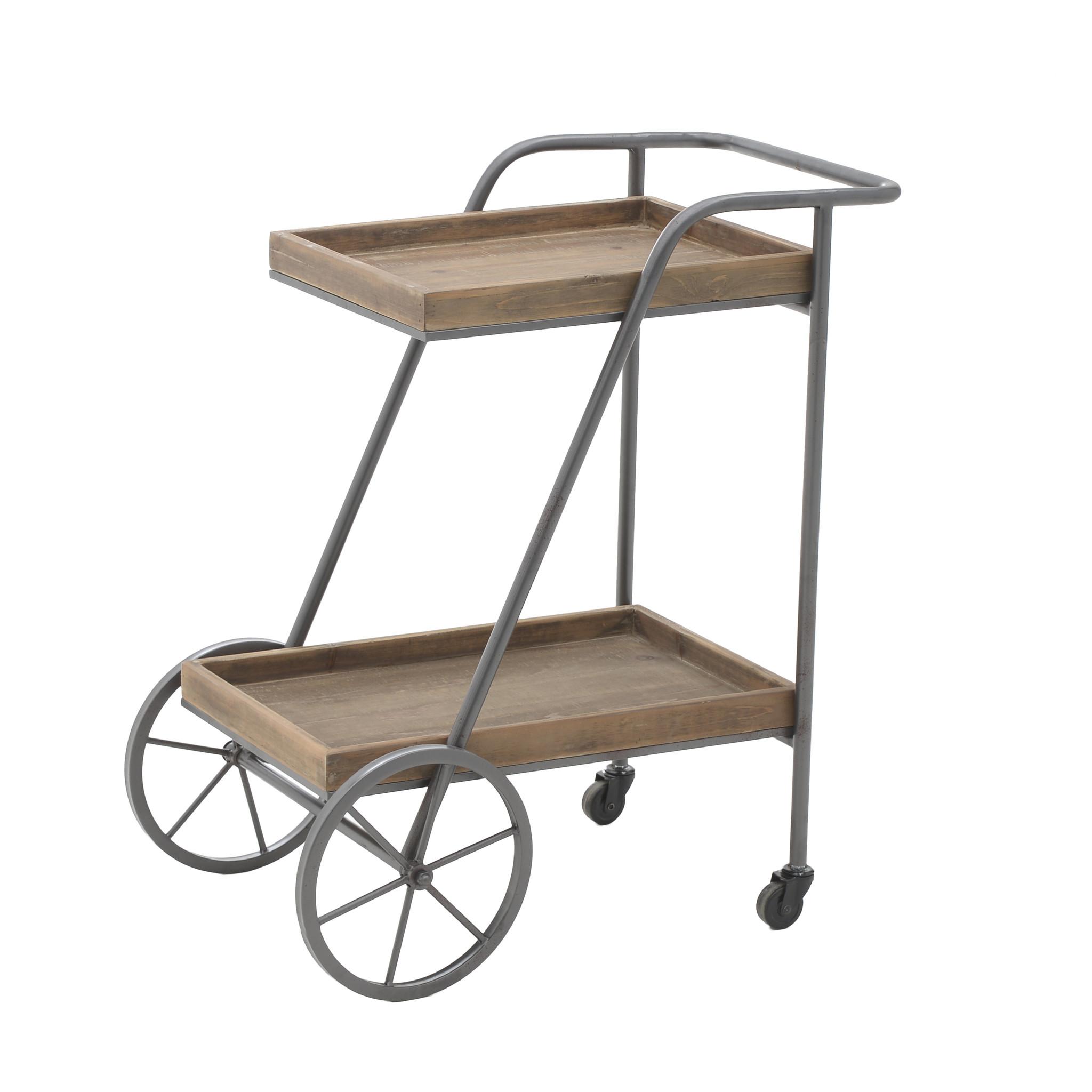 Стол-консоль на колесах