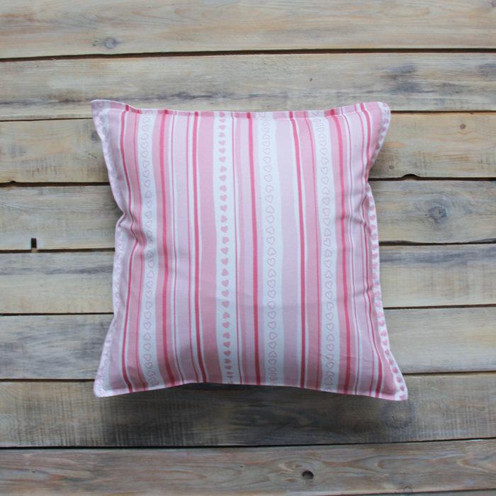 "Подушка ""Pink Stripes"""