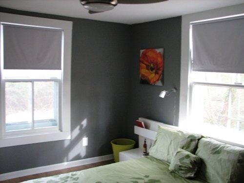 Фотография: Спальня в стиле Минимализм, Декор интерьера, Малогабаритная квартира, Квартира, Дома и квартиры – фото на InMyRoom.ru