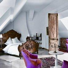 Фотография: Спальня в стиле Кантри, Современный, Декор интерьера, Дизайн интерьера, Цвет в интерьере – фото на InMyRoom.ru
