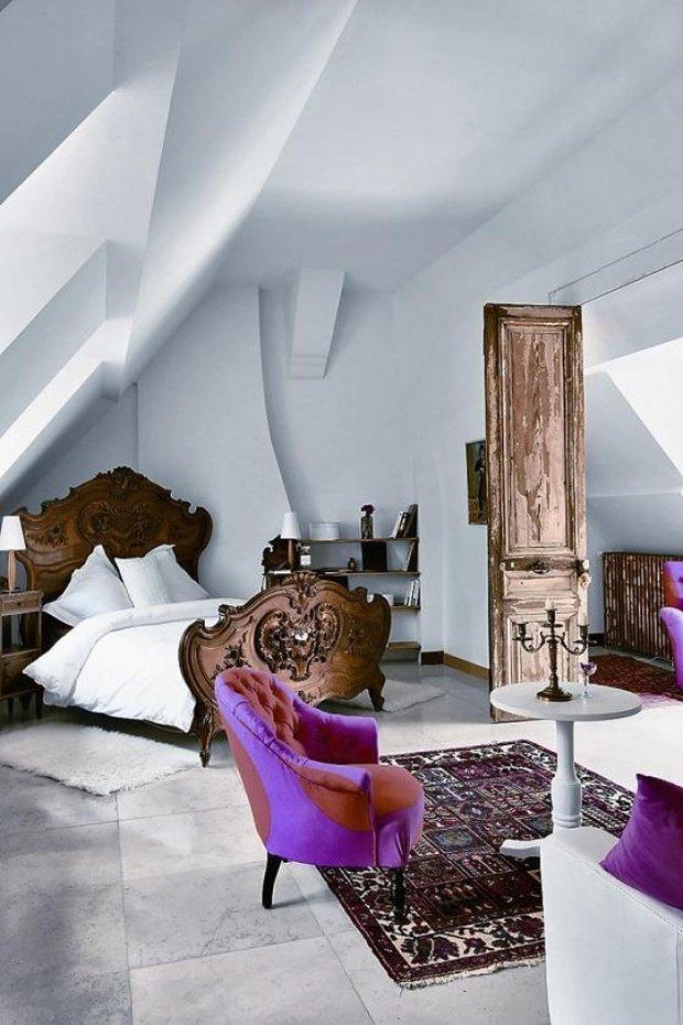 Фотография: Спальня в стиле Прованс и Кантри, Современный, Декор интерьера, Дизайн интерьера, Цвет в интерьере – фото на InMyRoom.ru
