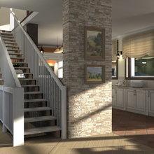 Фото из портфолио загородный дом 1 – фотографии дизайна интерьеров на INMYROOM