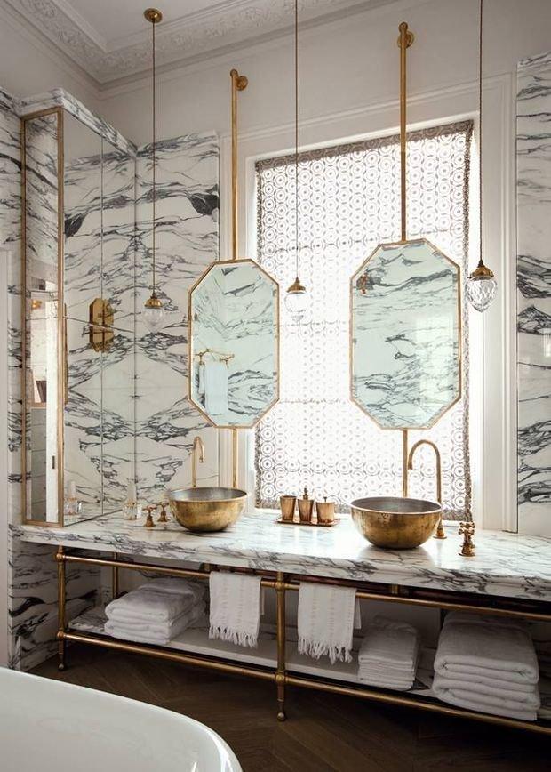 Фотография: Ванная в стиле Прованс и Кантри, Декор интерьера, Квартира, Декор, Советы, раковина, раковина в ванной – фото на InMyRoom.ru