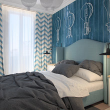 Фотография: Спальня в стиле Классический, Скандинавский, Современный, Декор интерьера, Квартира, Eichholtz, Дома и квартиры, Проект недели – фото на InMyRoom.ru