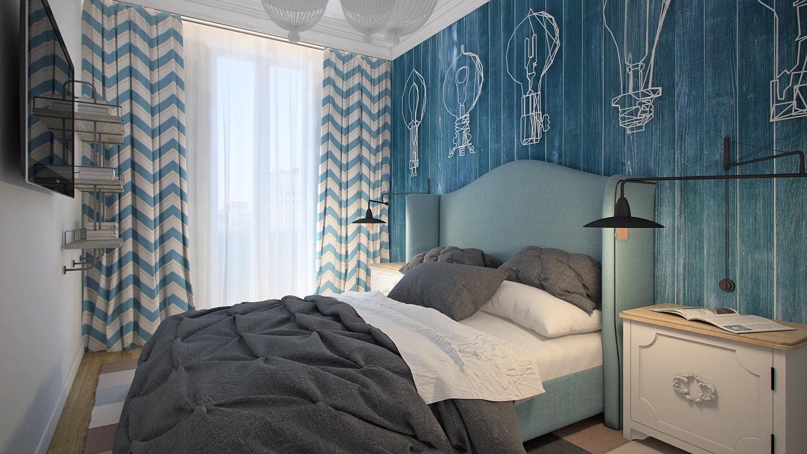 Декор и аксессуары в спальне