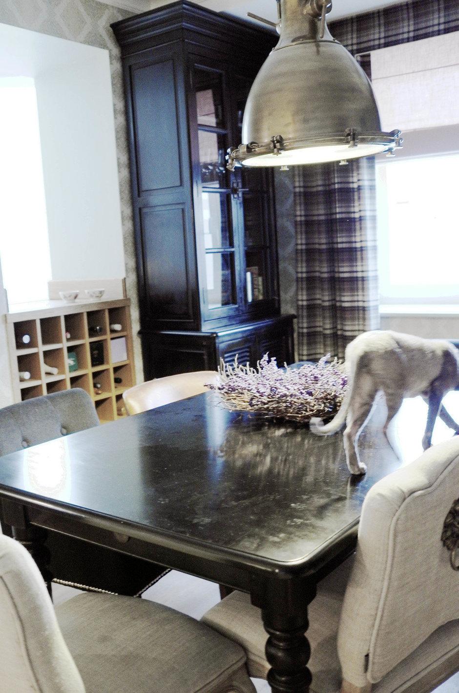 Фотография: Кухня и столовая в стиле Современный, Квартира, Eichholtz, Spiridon, Дома и квартиры, Проект недели – фото на InMyRoom.ru