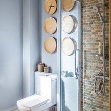 Фотография: Ванная в стиле Лофт, Классический, Эклектика, Дом, Проект недели – фото на InMyRoom.ru