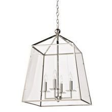 Светильник Metal and Glass Lantern