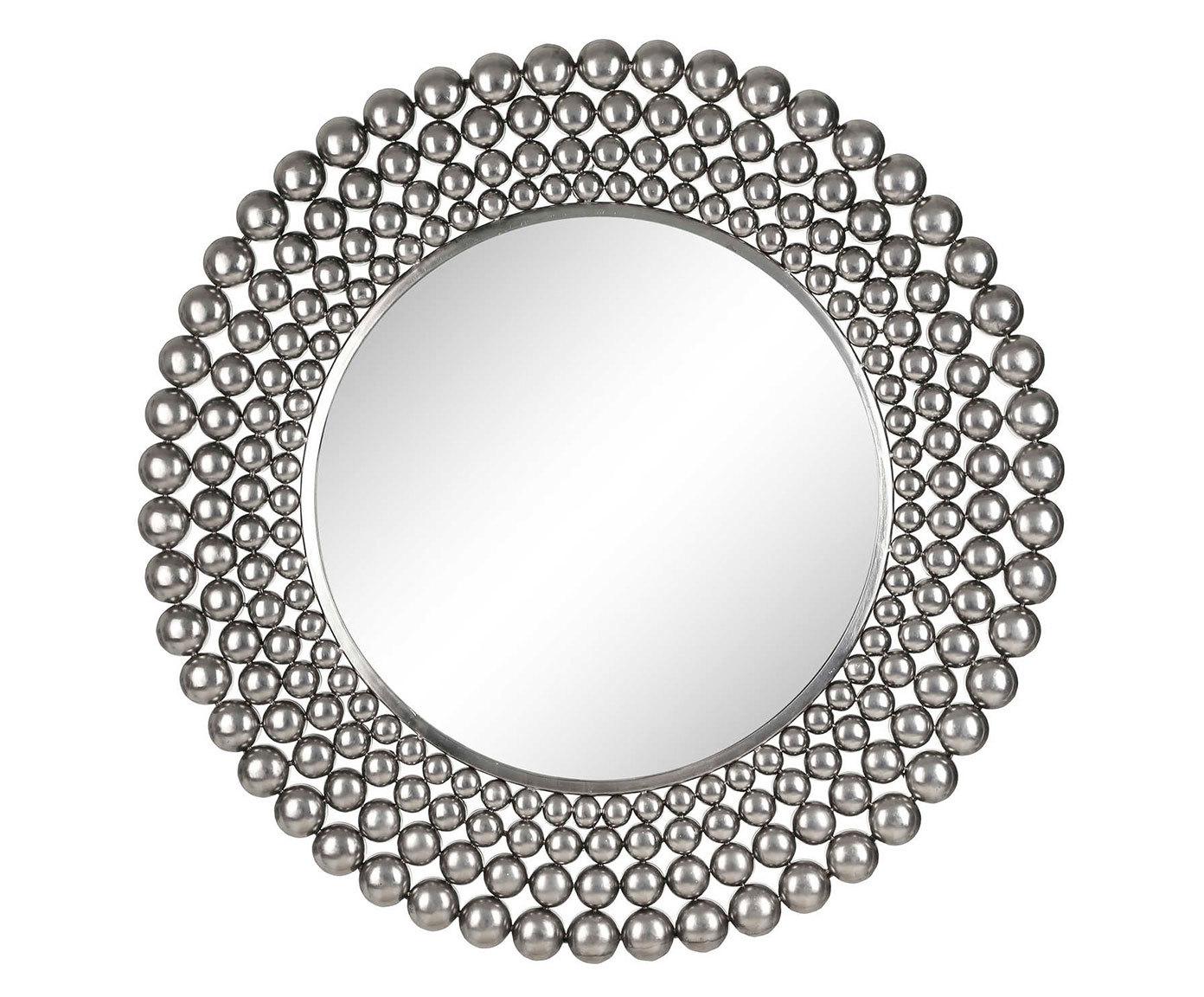 Купить Зеркало в серебристой раме, inmyroom, Испания